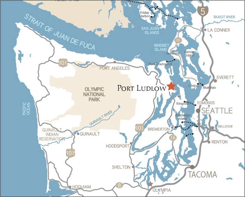 Where Is Port Ludlow Westharbor Homes